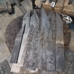 Forging the leaves