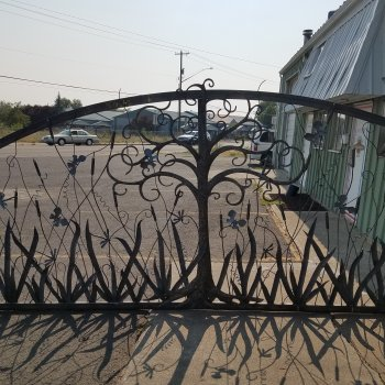 15ft Wetlands themed Gate
